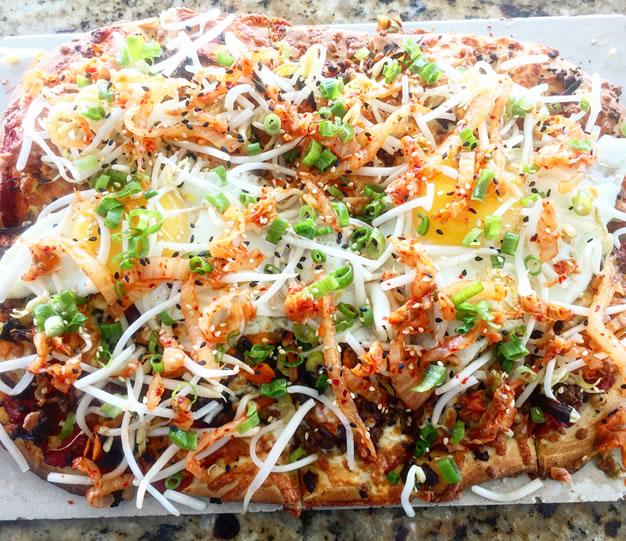 Lido Bibimbap Pizza